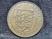 Jersey, George V, 1/12th Shilling 1931, VF, AH24